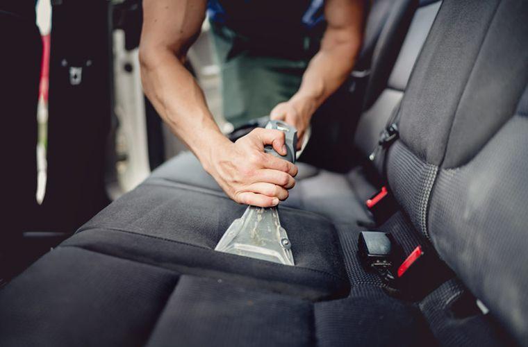Auto bekleding vlekverwijdering